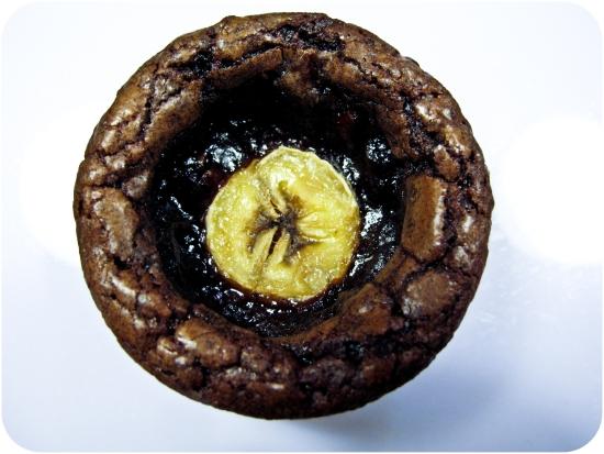 Kladdkaksmuffins