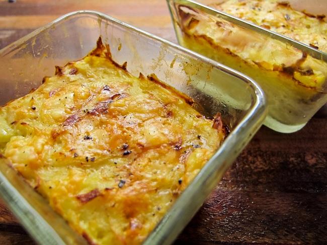potatisgratäng med creme fraiche