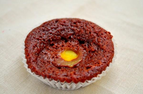 Choklad muffins med vaniljkräm