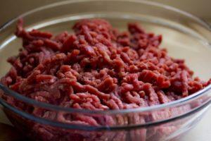 Frysa in köttfärs