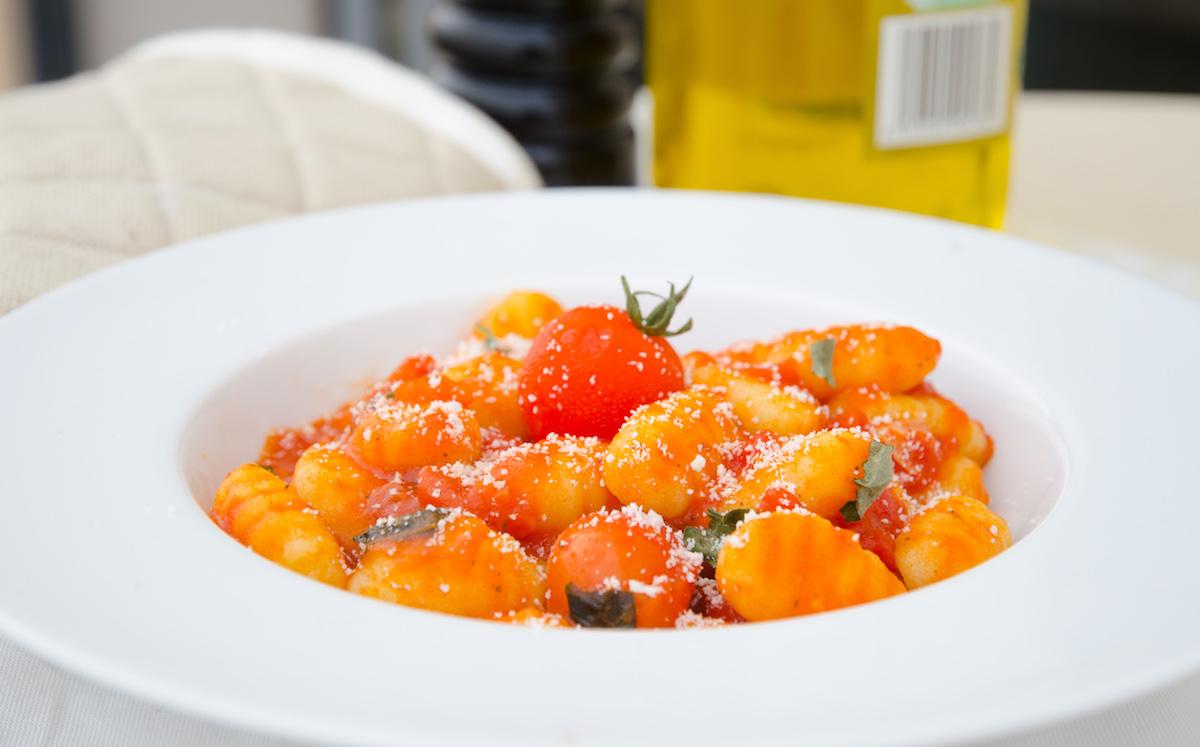gnocchi med tomatsås