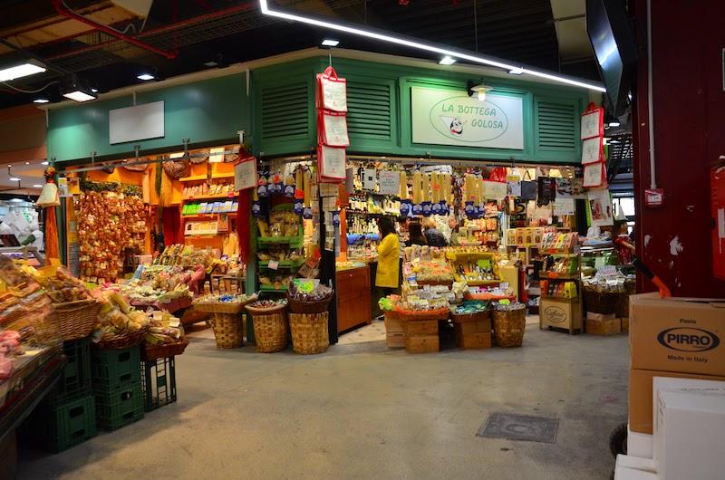 Matmarknaden i Florens