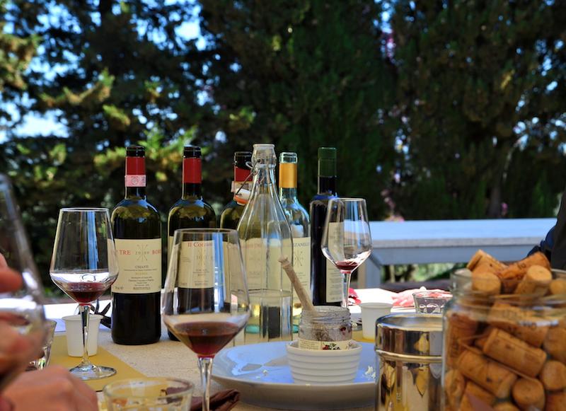 Vinprovning Chianti