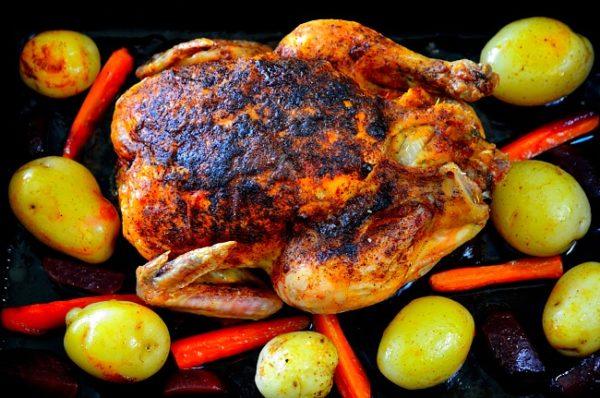 Recept på kyckling i ugn