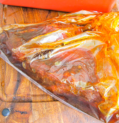 Hemmagjord marinad till grillat kött