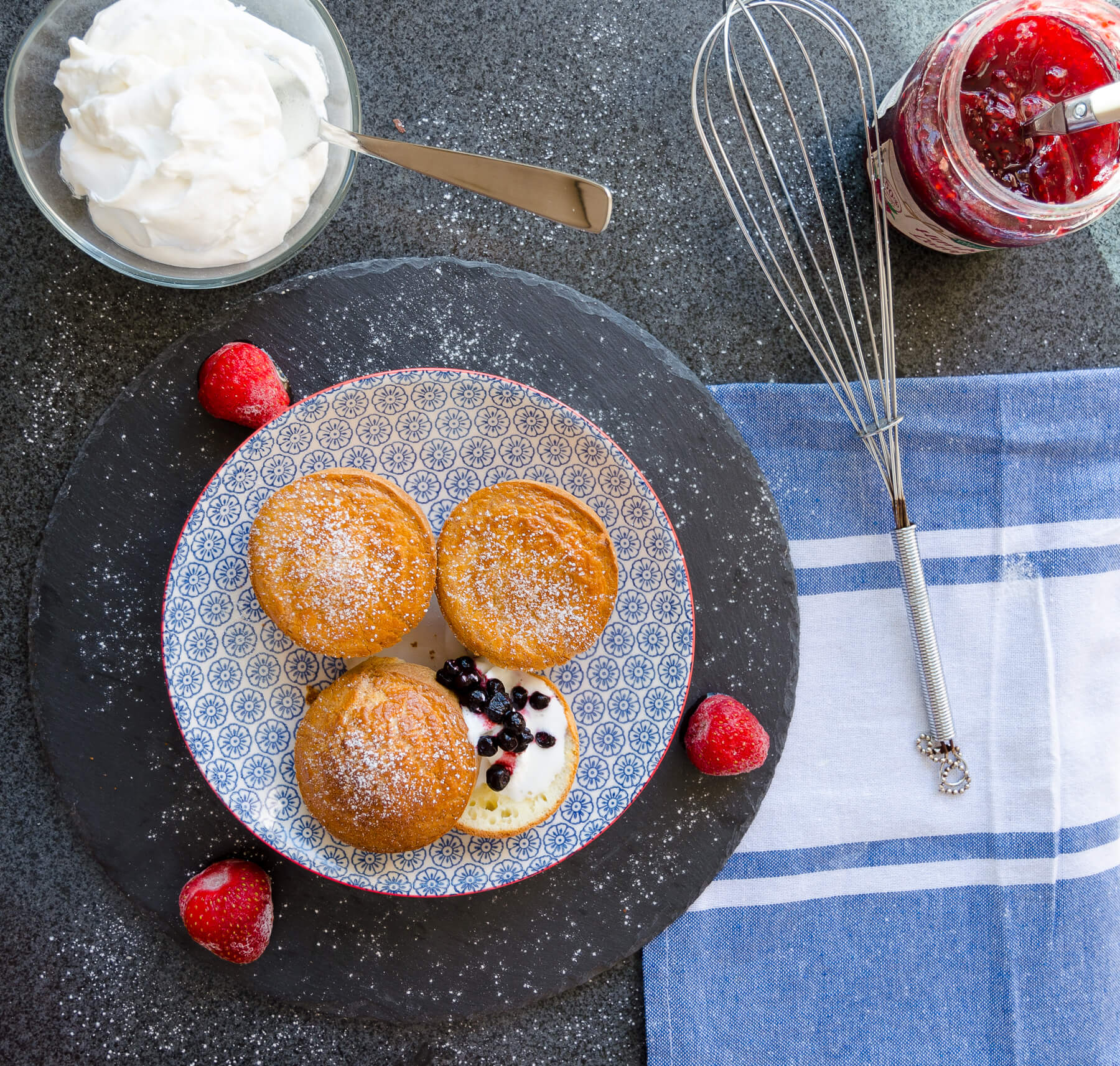 Popovers Pannkaksmuffins