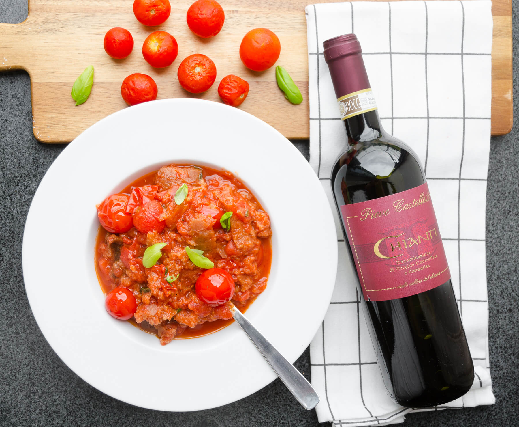 Toscansk Tomat- och brödsoppa - Pappa al Pomodoro